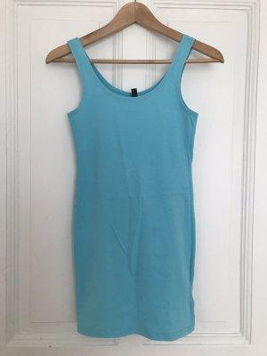 H&M Basic topje lichtblauw