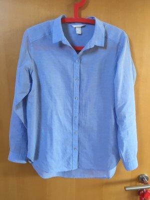 Hellblaues Blusenhemd von H&M