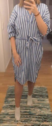 Hellblaues Kleid in Hemdoptik | Gr. 36 NEU MIT ETIKETT