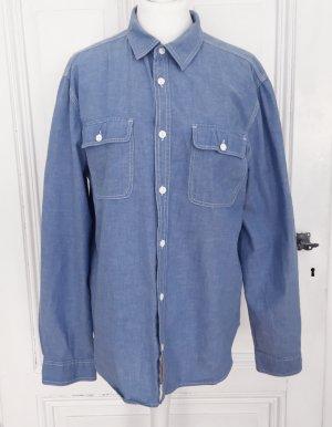 H&M Divided Jeansowa koszula Wielokolorowy Bawełna