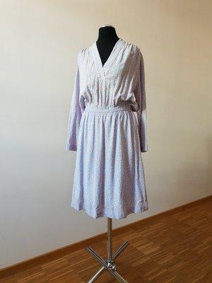 Selected Femme Robe mi-longue saumon-bleu azur