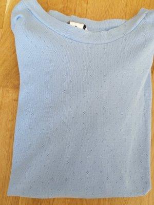 hellblaues Shirt von Monki