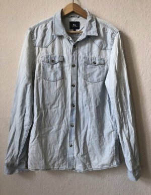 Clockhouse Denim Shirt azure