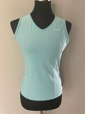 Hellblaues Sport-Top / Laufshirt von Nike Fit Dry, Gr. M