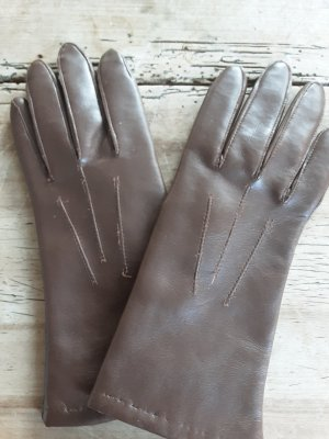 Leather Gloves light brown