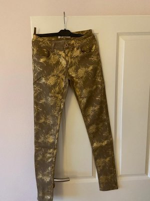 Toxik3 Jersey Pants light brown-gold-colored