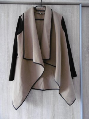 Apricot Between-Seasons-Coat camel-black