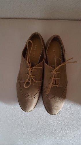 Pesaro Wingtip Shoes light brown