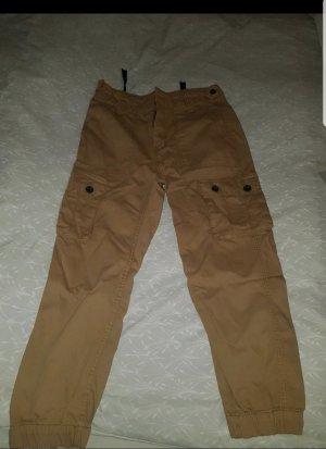 Bershka Pantalone cargo marrone chiaro