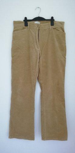 Michele Boyard Pantalon en velours côtelé marron clair-beige