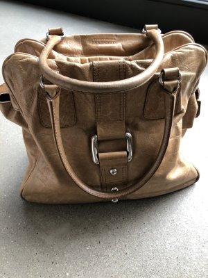 Hellbraune Handtasche, von Strenesse