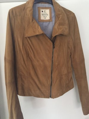 Campus by Marc O'Polo Leather Jacket multicolored