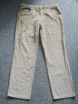 camargue Spodnie sztruksowe beżowy Bawełna