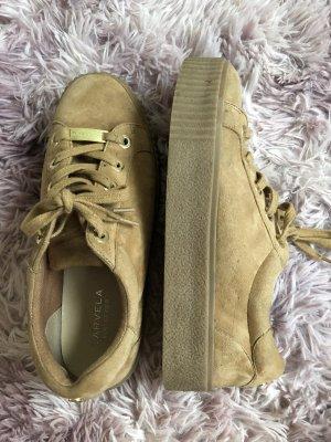 Carvela Lace-Up Sneaker light brown