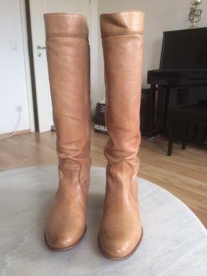Tango Botas estilo militar marrón claro-camel