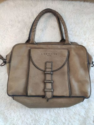 Liebeskind Handbag ocher-brown leather