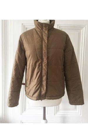 Hellbraune warme Jacke mit Stehkragen NEU Street One