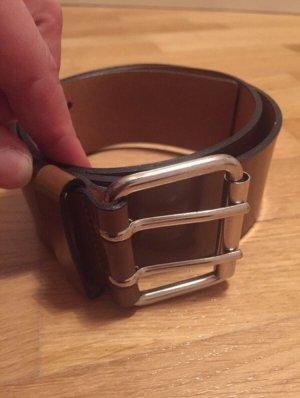 Marc O'Polo Cinturón de cuero coñac-marrón claro