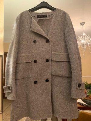 Hellbrauner Mantel von Zara Gr. M