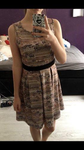 Bodyflirt Empire Dress multicolored polyester