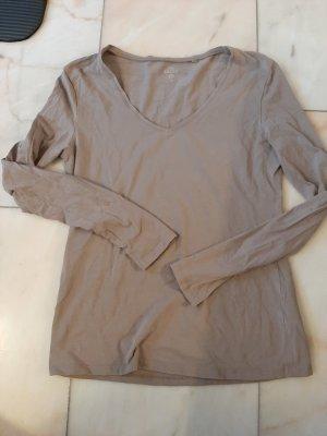 C&A Koszulka z długim rękawem jasnobrązowy