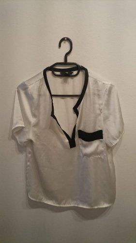 Helle Bluse von H&M in Größe 36 mit Tasche