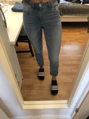 Cache & Cache Jeans slim bleu azur