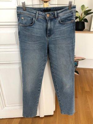 Helle Jeans Ankle-Länge