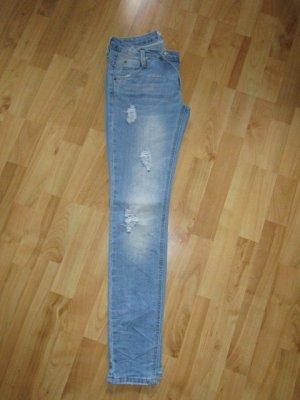 helle Jeans Hüftjeans Gr. 36/38
