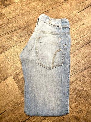 Gina Tricot Jeans vita bassa multicolore