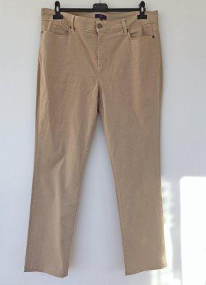 NYDJ Spodnie z pięcioma kieszeniami beżowy-kremowy