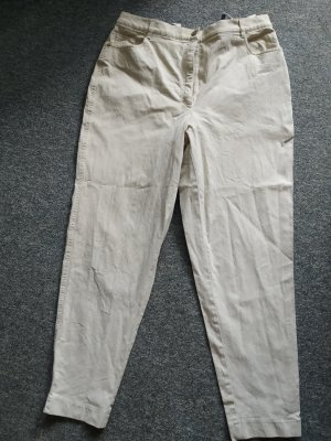 Zerres Carrot Jeans oatmeal cotton