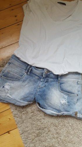 Orsay Short en jean bleu azur