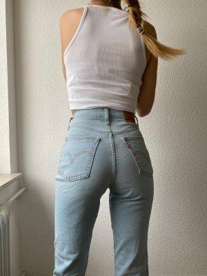 Levis Jeans taille haute bleu clair-bleu clair