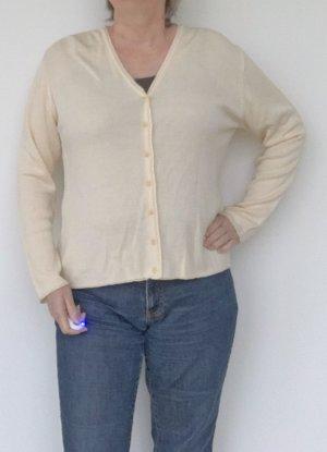Sarah Chaleco de punto crema Viscosa