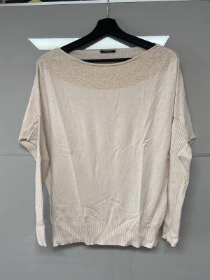 Orsay Prążkowana koszulka kremowy-nude