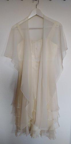 Ascia Robe de soirée crème-beige clair