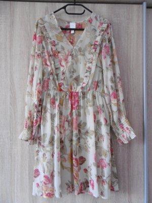 Helles Blumenkleid von H&M