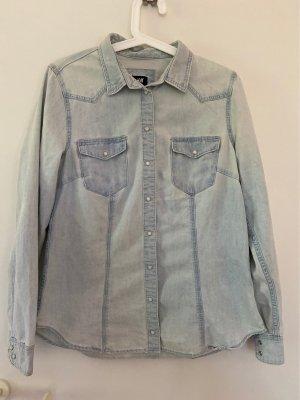 Helles Jeans Hemd/Bluse