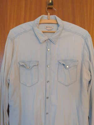 BOYFRIEND Spijkershirt azuur