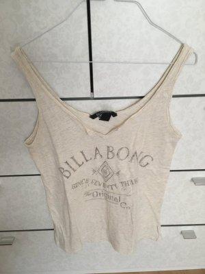 Billabong Top sin hombros blanco-crema