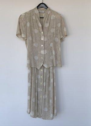 helles zweiteiliges Sommerkleid, schmeinck, Gr. 40