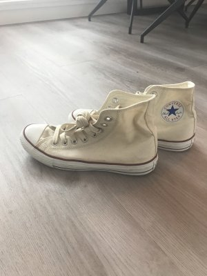 All Star Lace-Up Sneaker pale yellow-cream