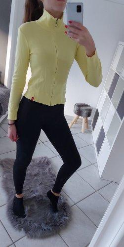 edc by Esprit Chaqueta estilo camisa amarillo pálido