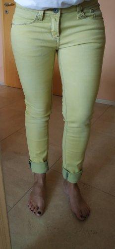 Hellgelbe Jeans, Gr 36