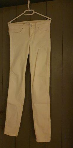 Mac Jeans a sigaretta giallo chiaro