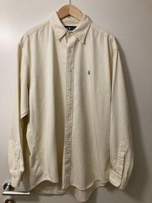 hellgelbes Polo Ralph Lauren klassisches Hemd