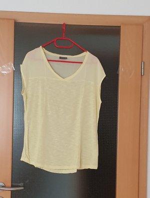 Street One T-shirt giallo chiaro