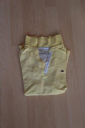 Hellgelbes Tommy Hilfiger Poloshirt