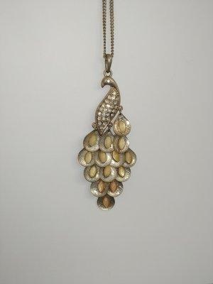 Accesorize Collier incrusté de pierres doré